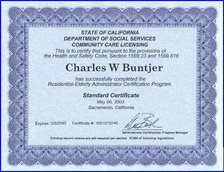 Administration License
